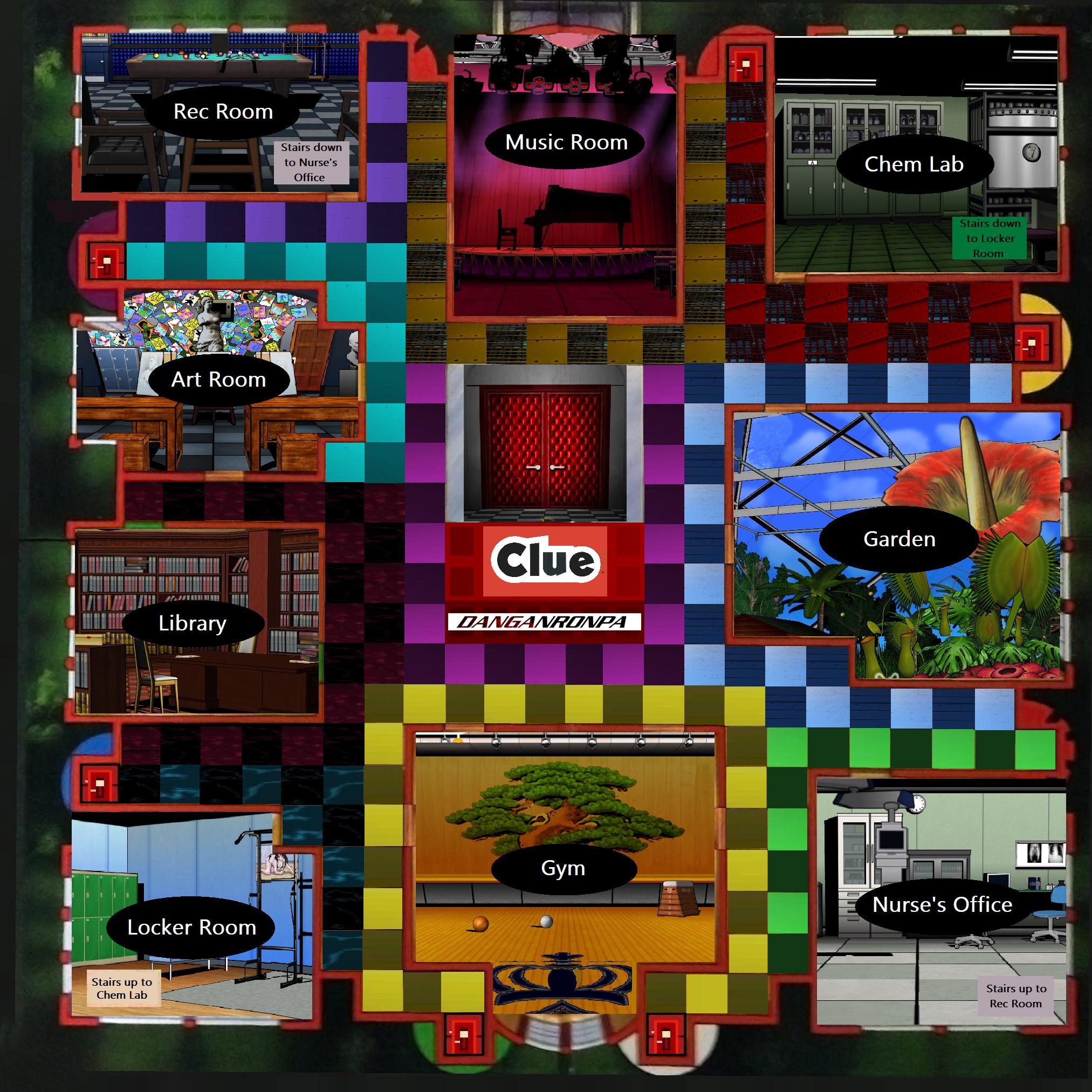 Steam Workshop :: Danganronpa Clue