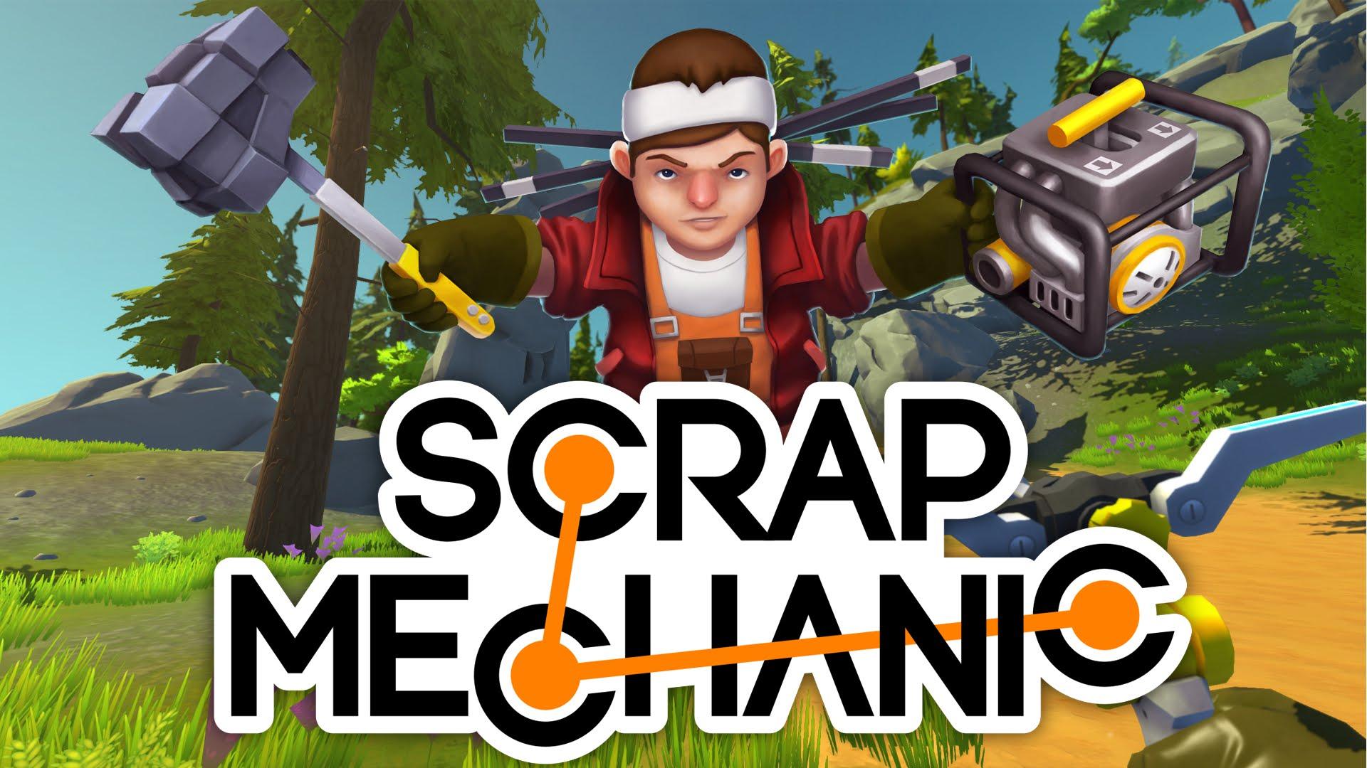 Scrap mechanic v0. 2. 14 [steam early access] торрент, скачать игру.