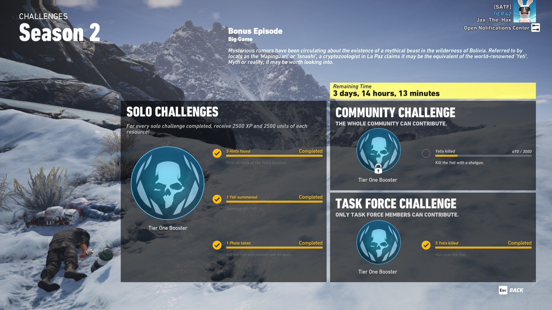 Steam Community :: Guide :: List of previous challenges