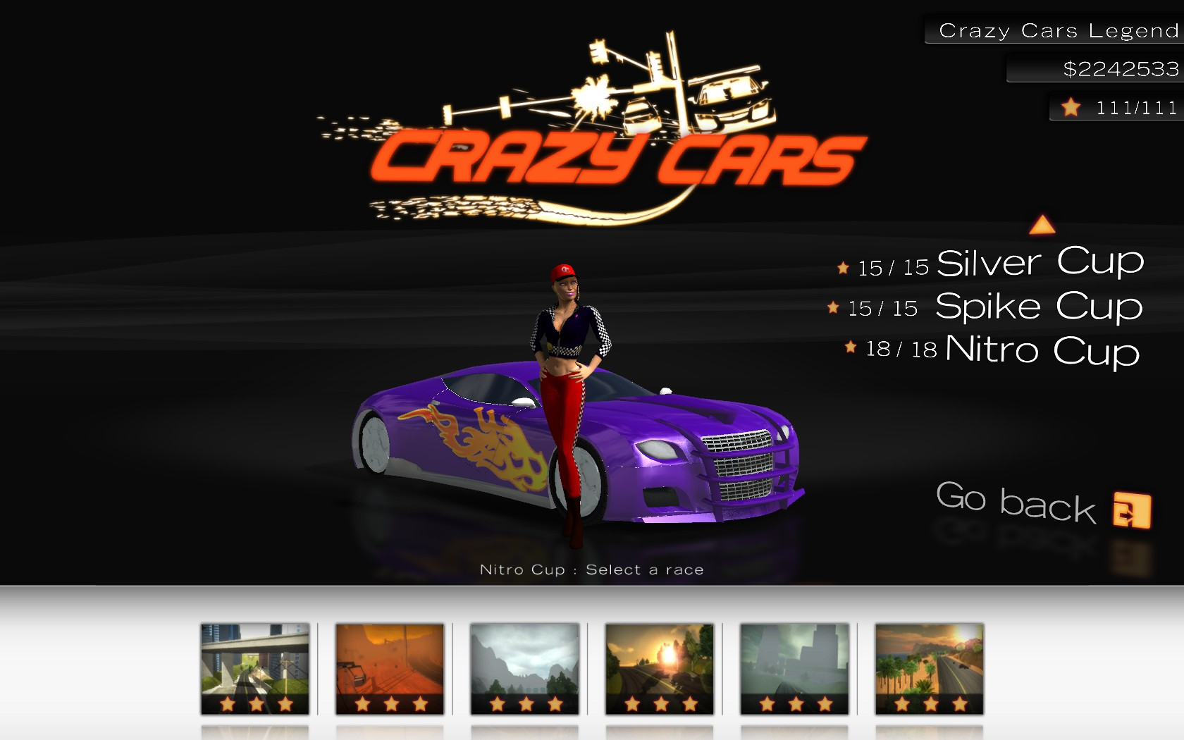 Steam Greenlight :: Crazy Cars - Hit the Road