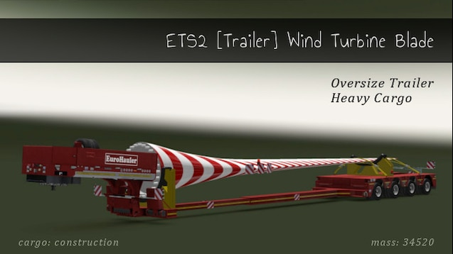 steam ワークショップ ets2 trailer wind turbine blade