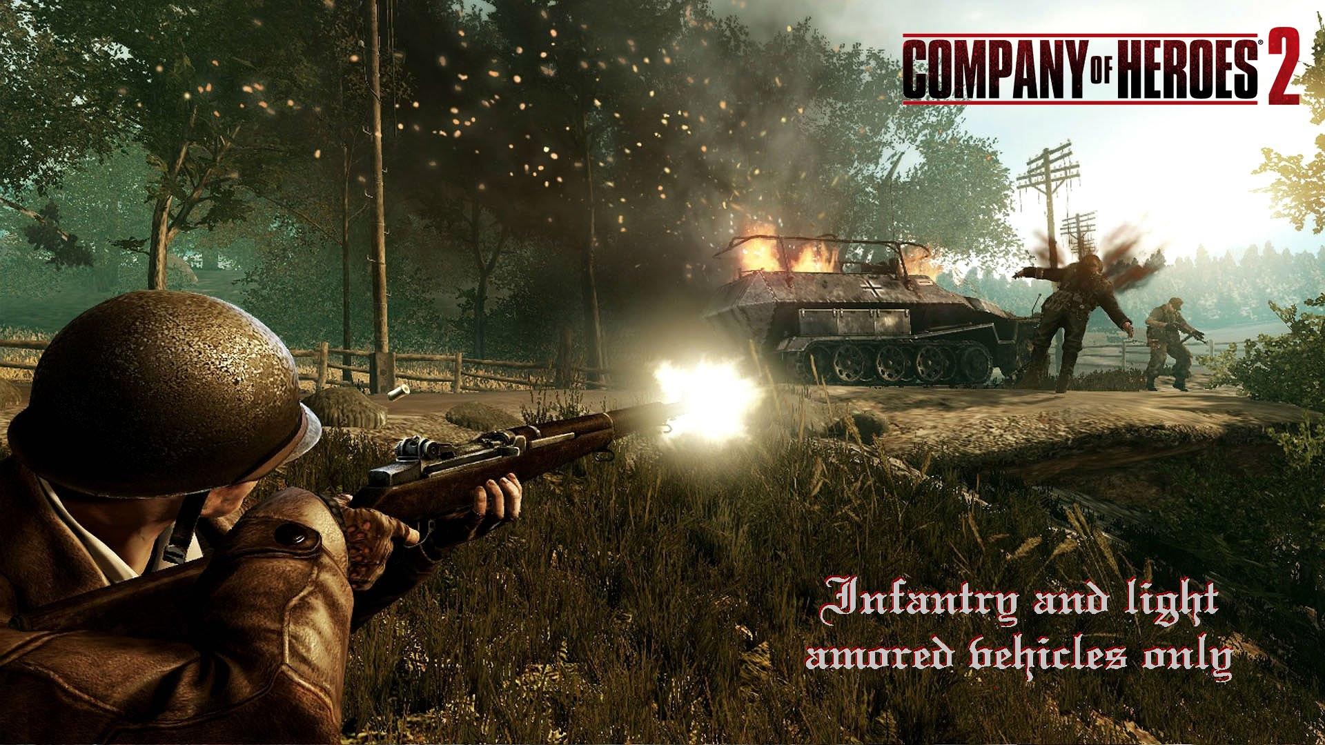 Infantry & Light Amored Vehicles