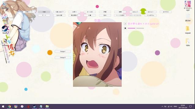 Steam Workshop Sakurasou Nanami Interactive Wallpaper