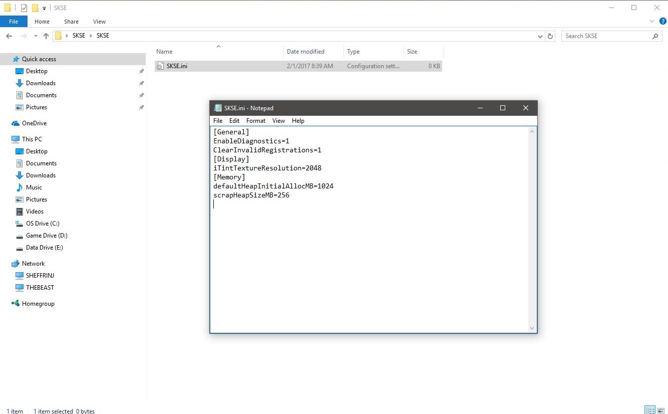 Steam Community :: Guide :: Skyrim Memory Configuration
