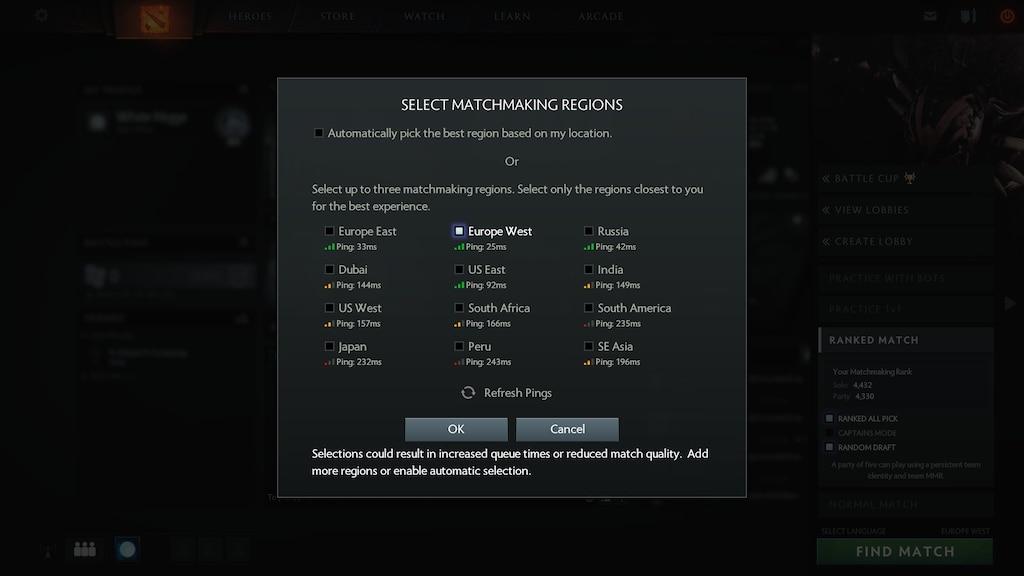 Steam Community :: Screenshot :: EU West ping: 25 ms :) and