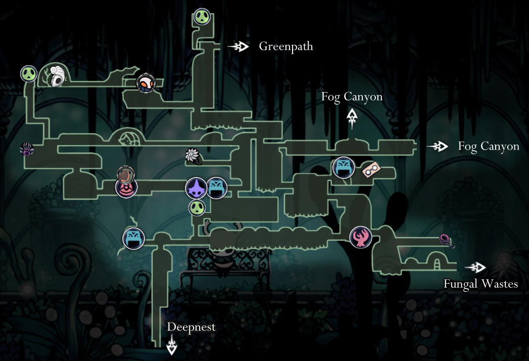 Steam Community Guide Maps Of Hallownest
