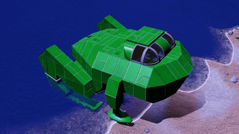 FROG Warp Jump Ship