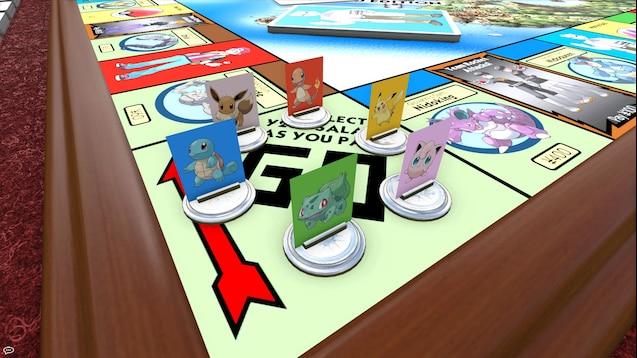hasbro monopoly pokemon kanto edition