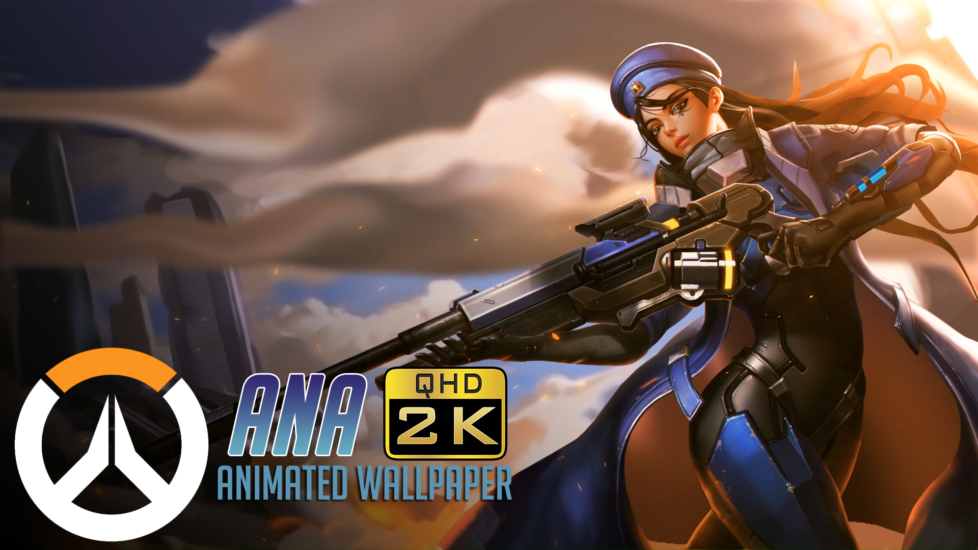 Wallpaper Engine - Ana | Animated Wallpaper QHD 1440p - Overwatch