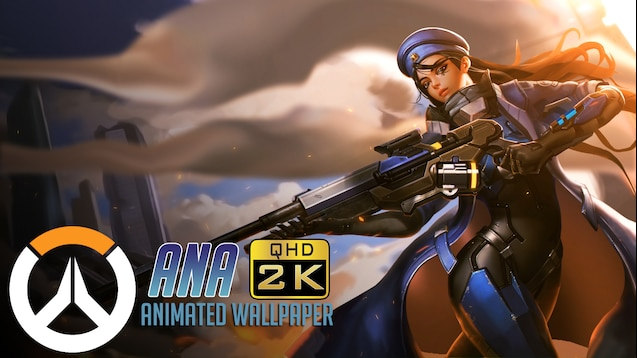 Steam Workshop Ana Animated Wallpaper Qhd 1440p Overwatch