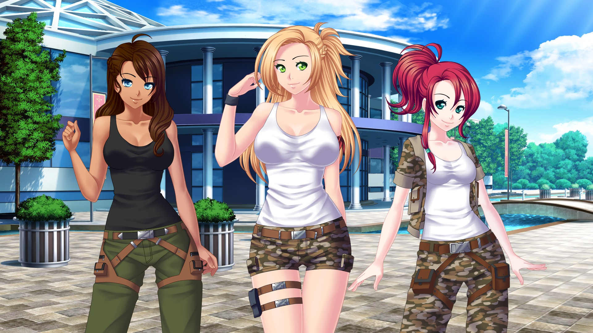 steam community guide battle girls all good routes