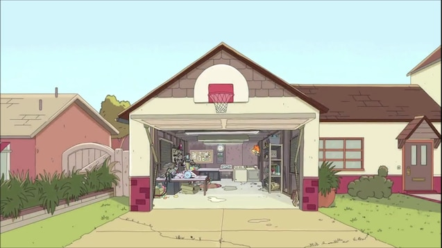 Steam Workshop Rick And Morty Garage Live Wallpaper