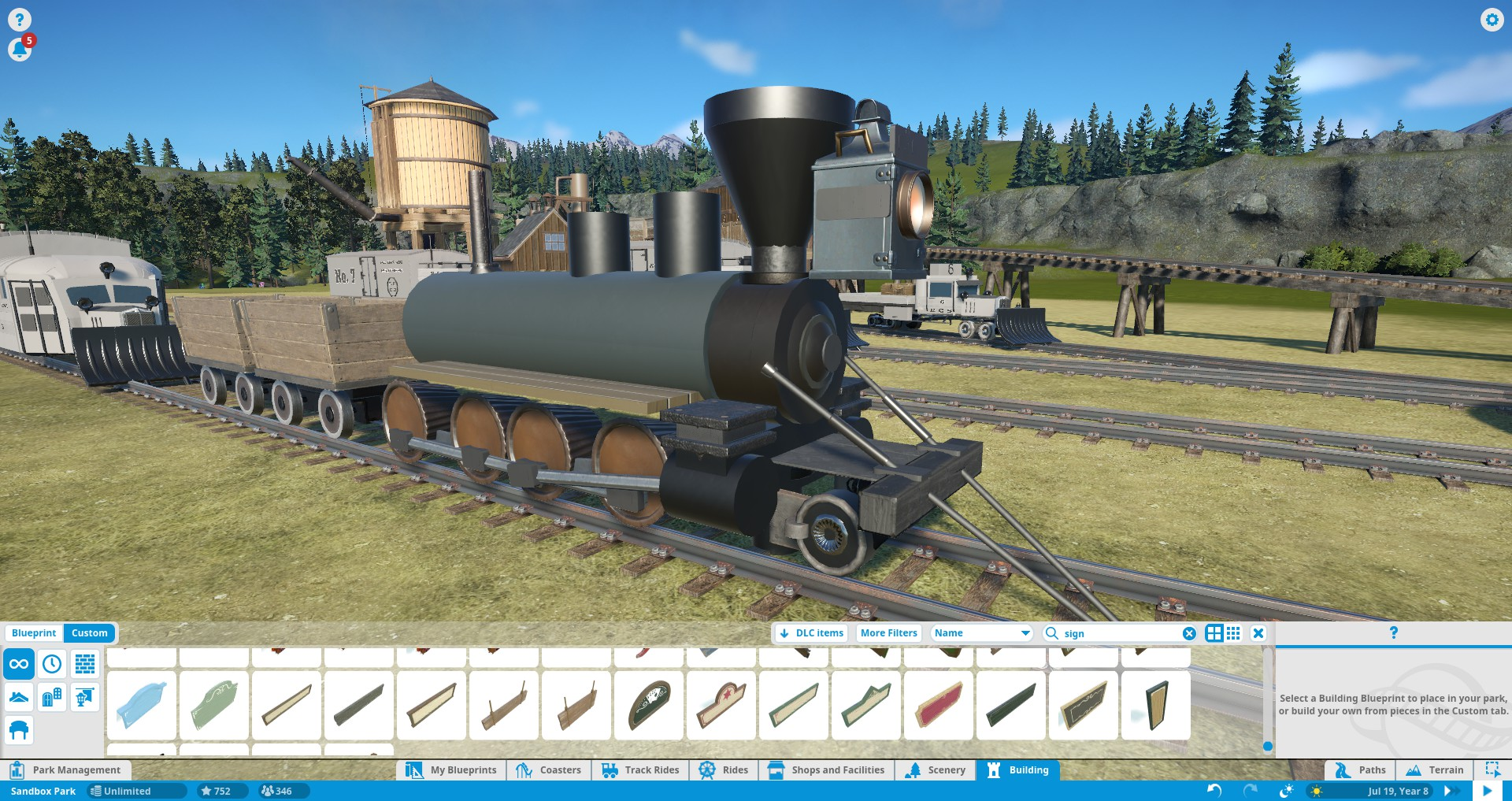 Accurate railroad creations with ws i am confident in saying that this is one of the most detailed and accurate custom steam engines on the workshop and if theres enough demand perhaps more malvernweather Gallery
