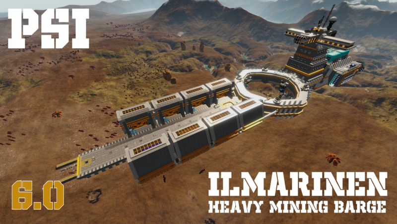 PSI Ilmarinen Heavy Mining Barge