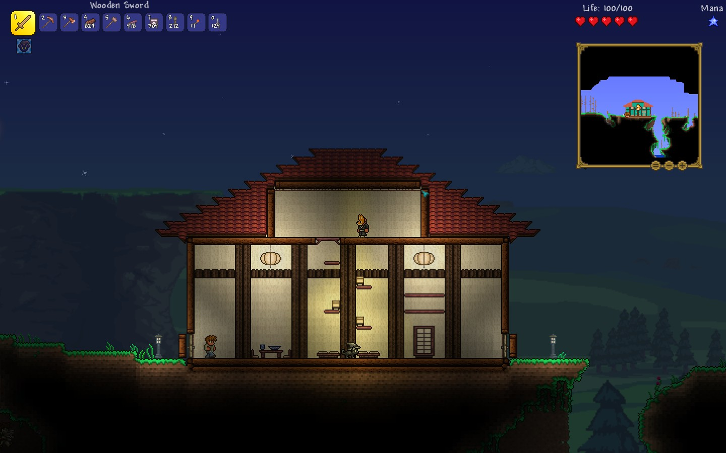 An Alternative To Wooden Beams Terraria General Discussions