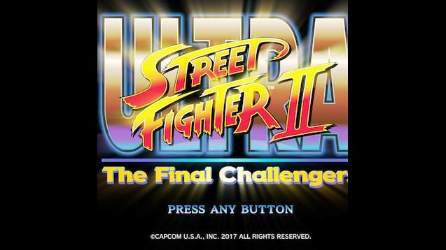Steam Workshop :: Ultra Street Fighter II (2) - Logo (Pulse