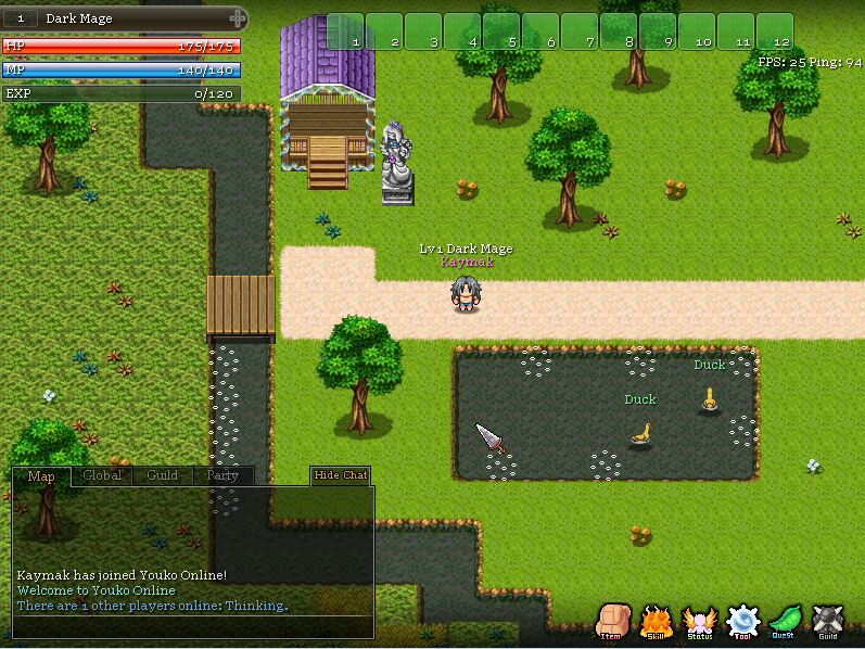 Steam Greenlight :: Youko 2D MMORPG