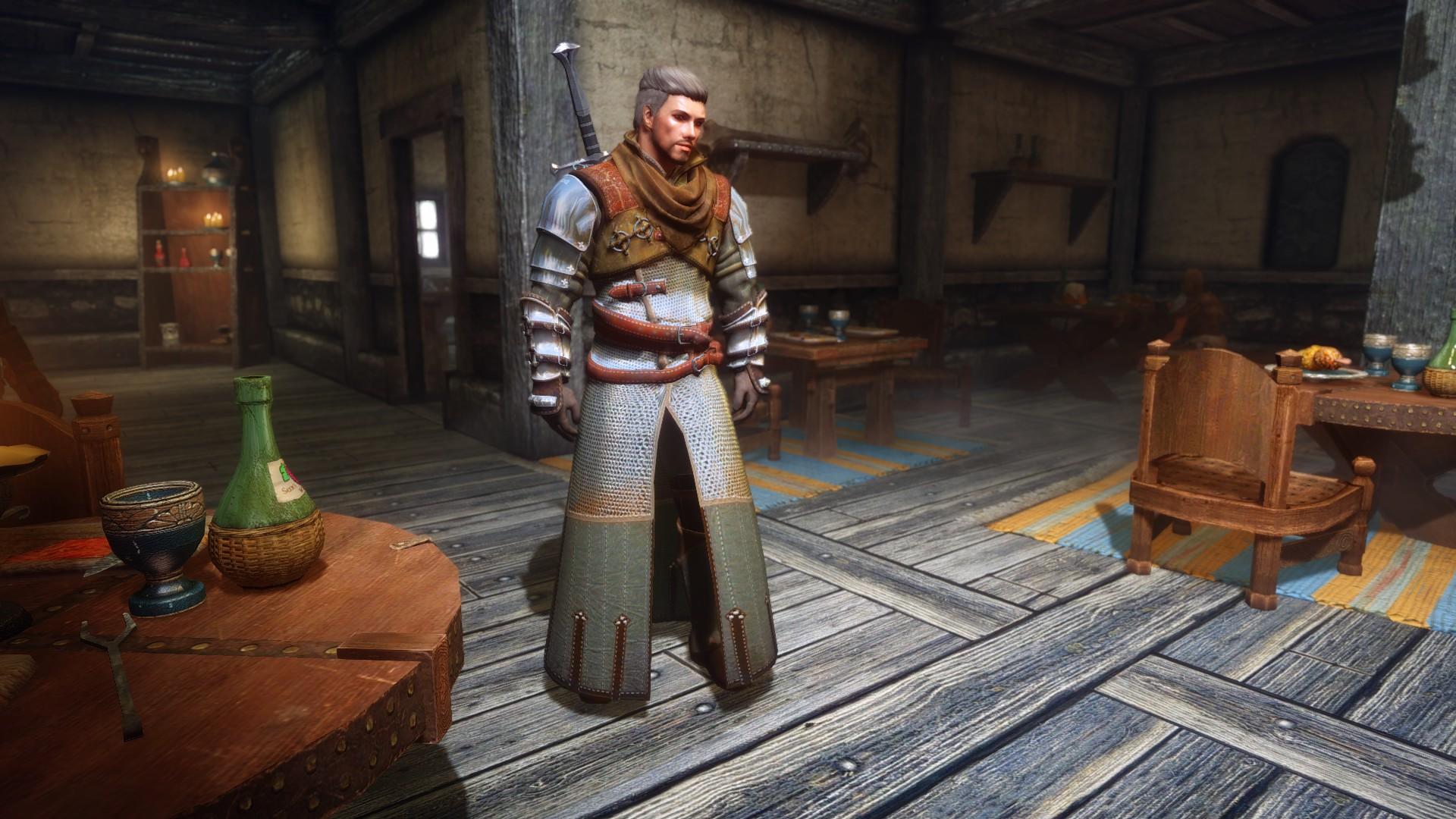 Steam Workshop :: The Witcher 3 Ursine Witcher Gear Armor