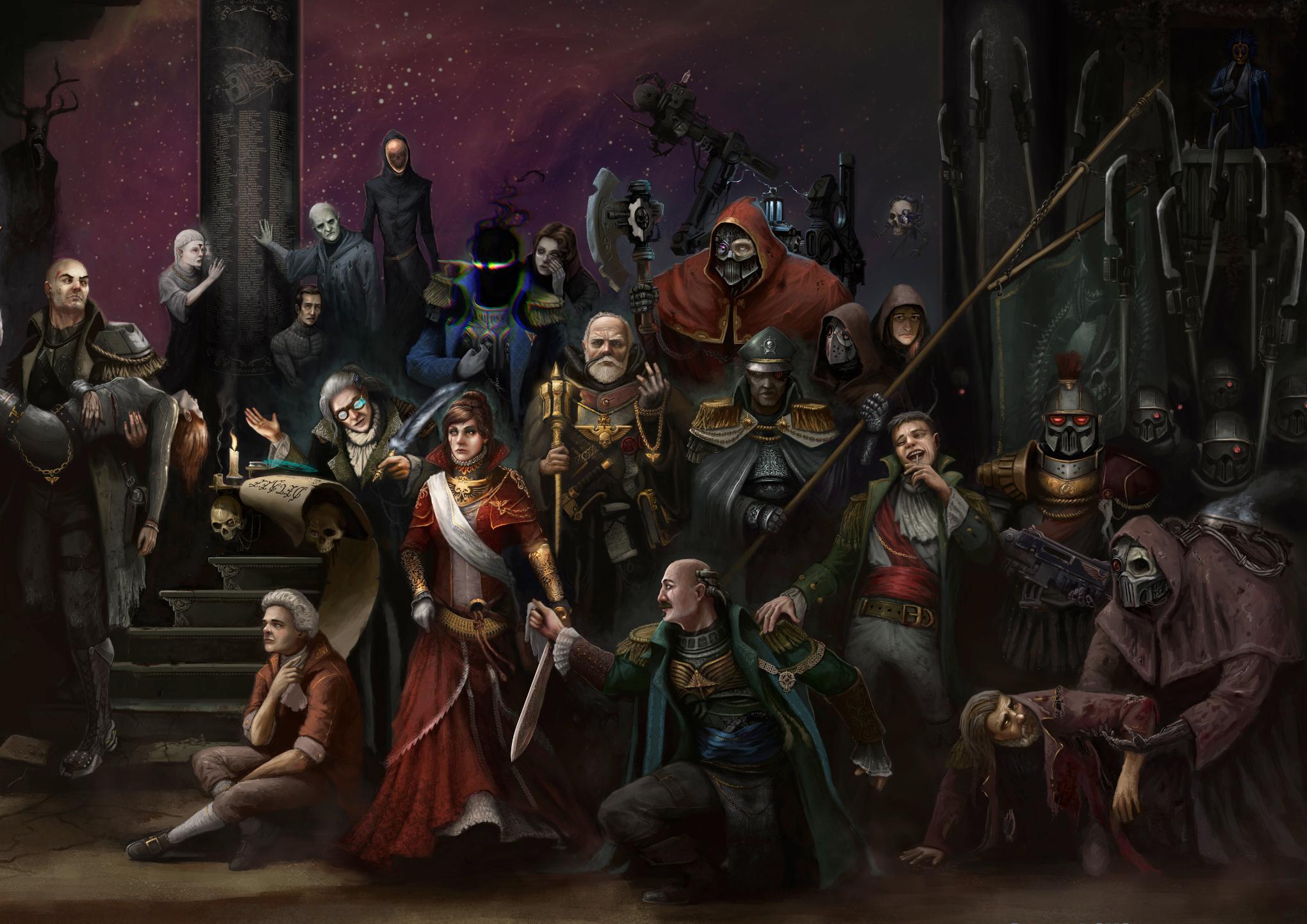 Warhammer 40, Rogue Trader - 1d4chan