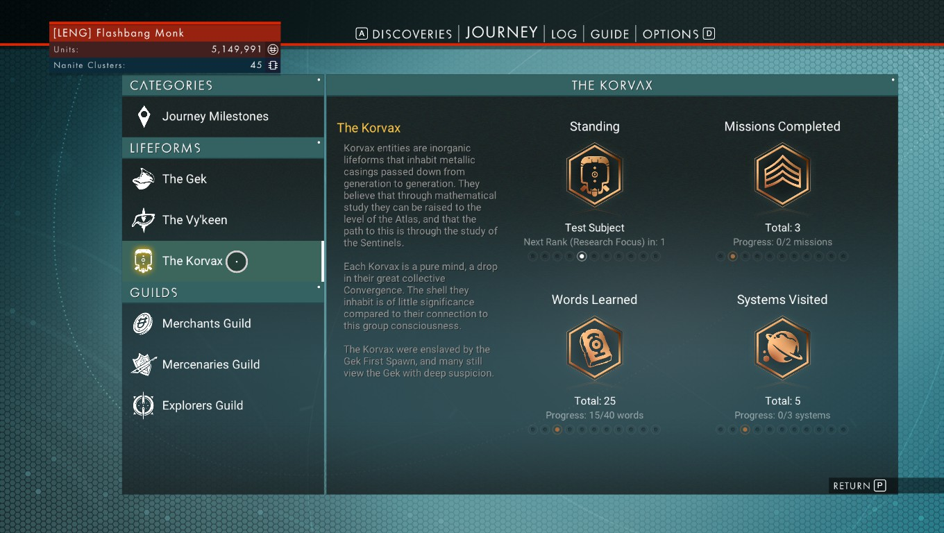 Steam Community Guide New As Of 13 Atlas Rises Wip Cah 4wiring Diagrams The Korvax Are A Race Machine Like Beings That Connected To Some Kind Hive Mind They Explorers And Scientists Good For Exosuit Tech