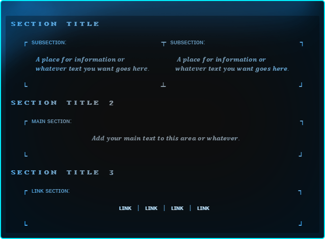 Steam Community :: Guide :: 30+ Free Info Box Templates