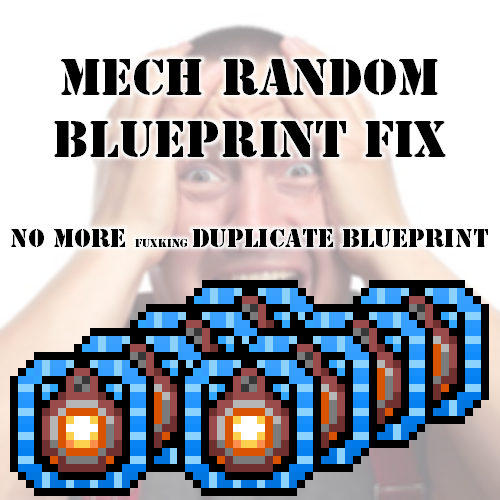 Mech Random Blueprint Fix