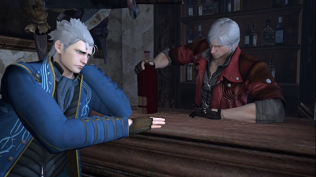 Steam Workshop Vergil From Devil May Cry 4 Special Edition