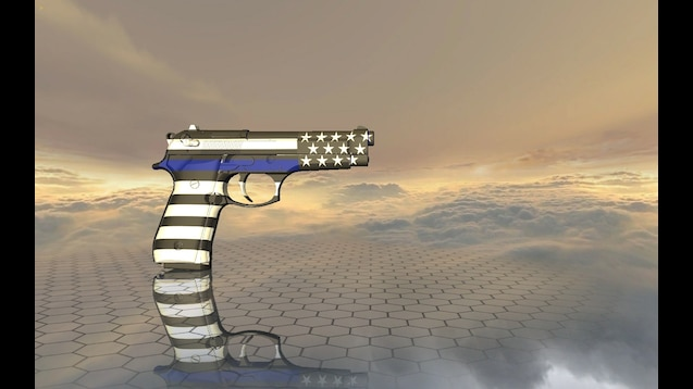Steam Workshop :: Law Enforcement/Thin Blue Line Beretta 92 Finished