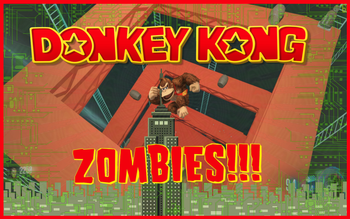 Release - Call of Duty: Black Ops 3 Custom Zombie Maps | Donkey Kong ...