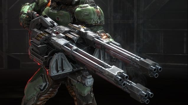 Steam Workshop Doom Chaingun
