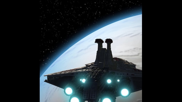 Venator Class Star Destroyer - Star Wars Animated Wallpaper [1080p]