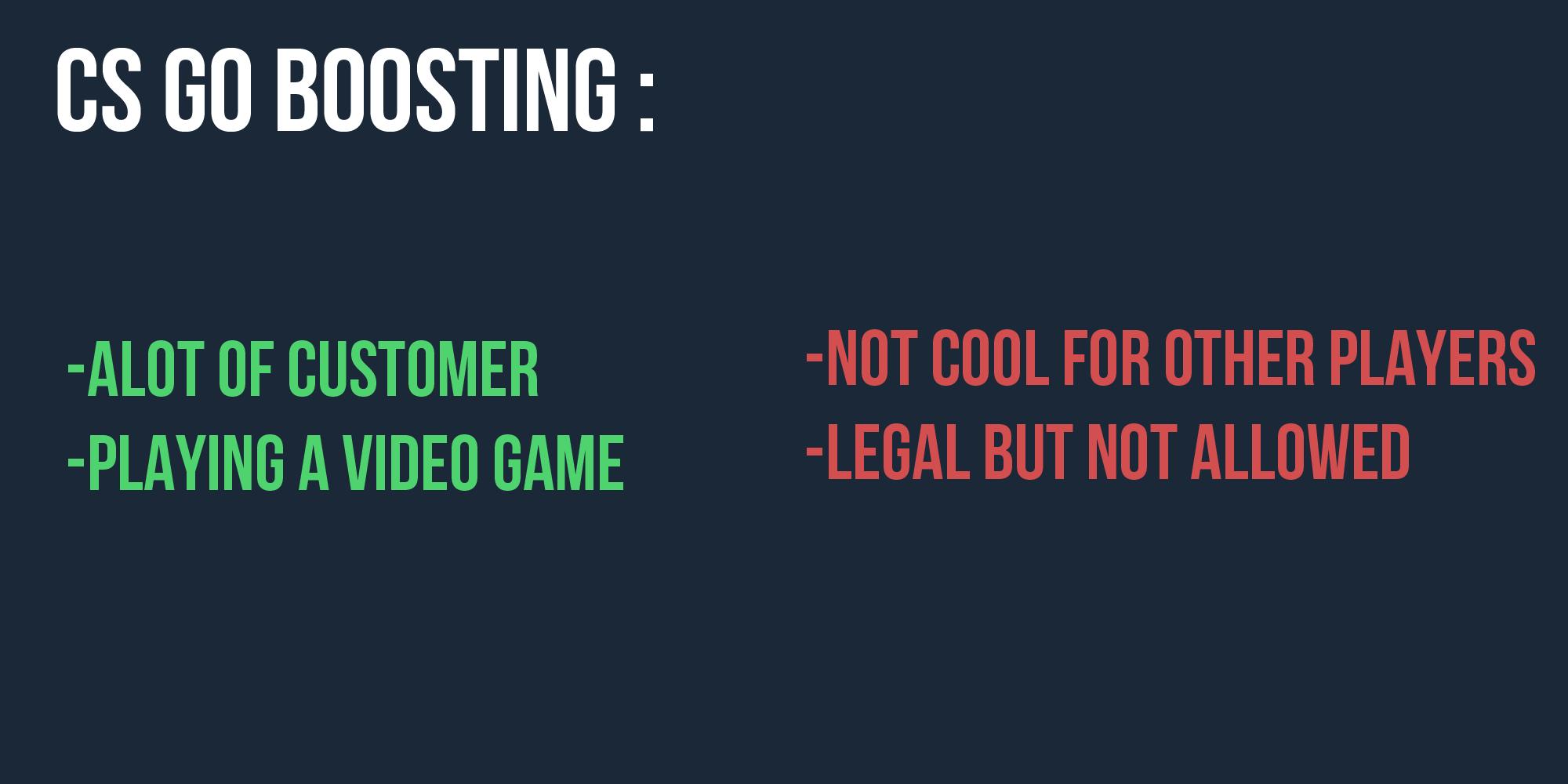 csgo boosting reddit