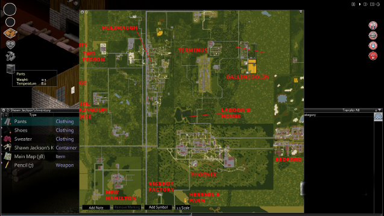 Steam Workshop All In Zomboid Map Pack SPSplitscreen Enhanced - All us steam servers map