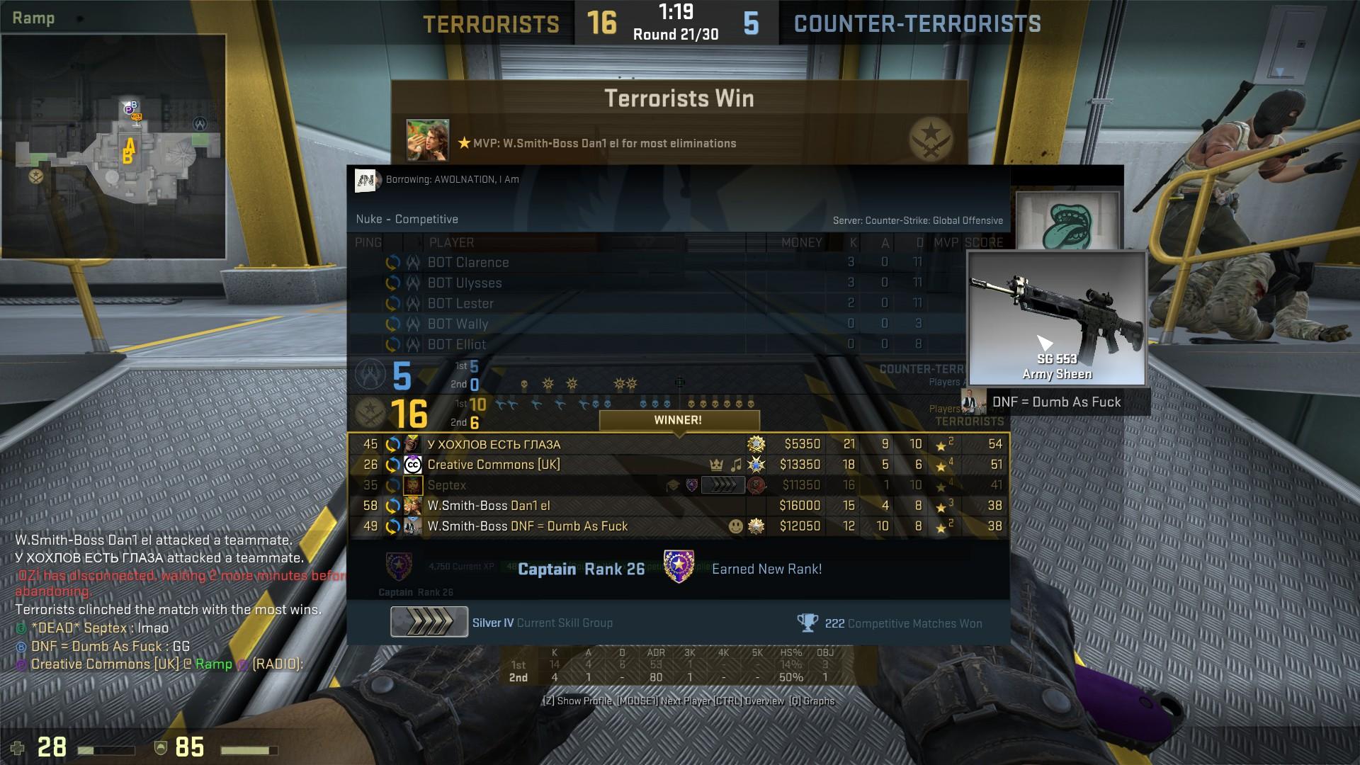 Cs go prime matchmaking command