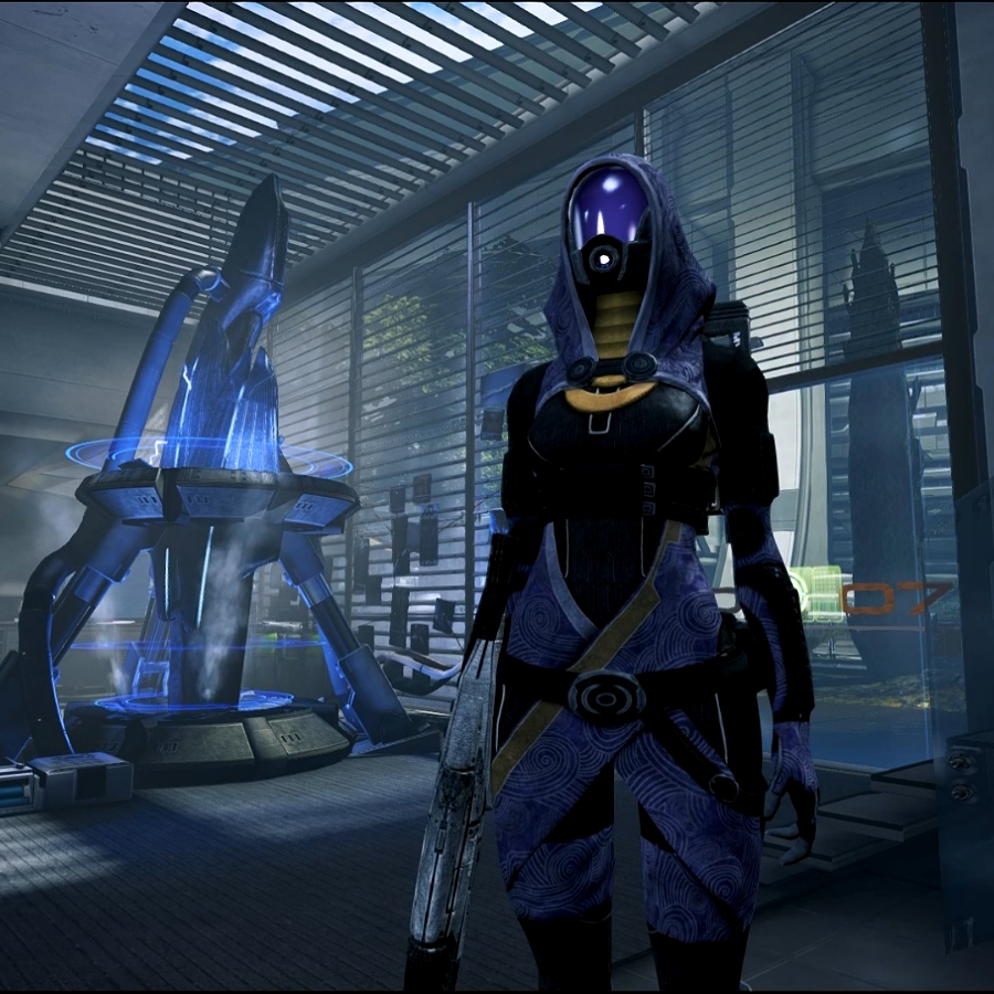 Mass Effect 3 Tali Office Wallpaper Engine