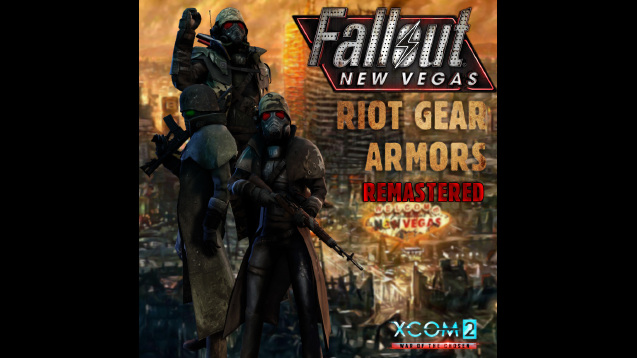 WotC] Fallout New Vegas: Riot Gear Armors :: Remastered