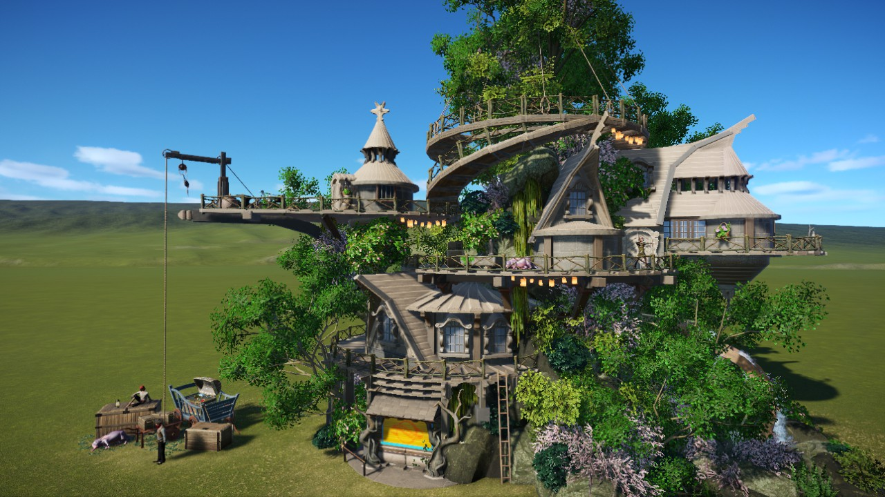 [WD] Elven Treehouse
