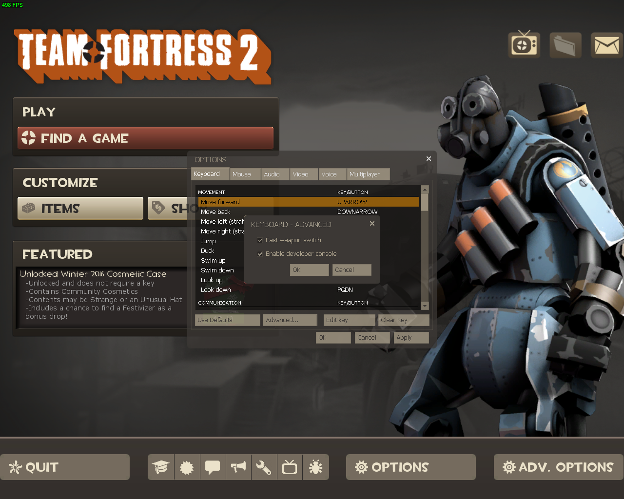 Steam Community :: Guide :: Tf2: Guide to Settings and More
