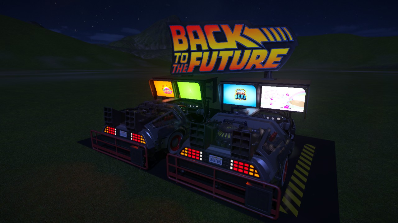 Back To The Future Arcade Units