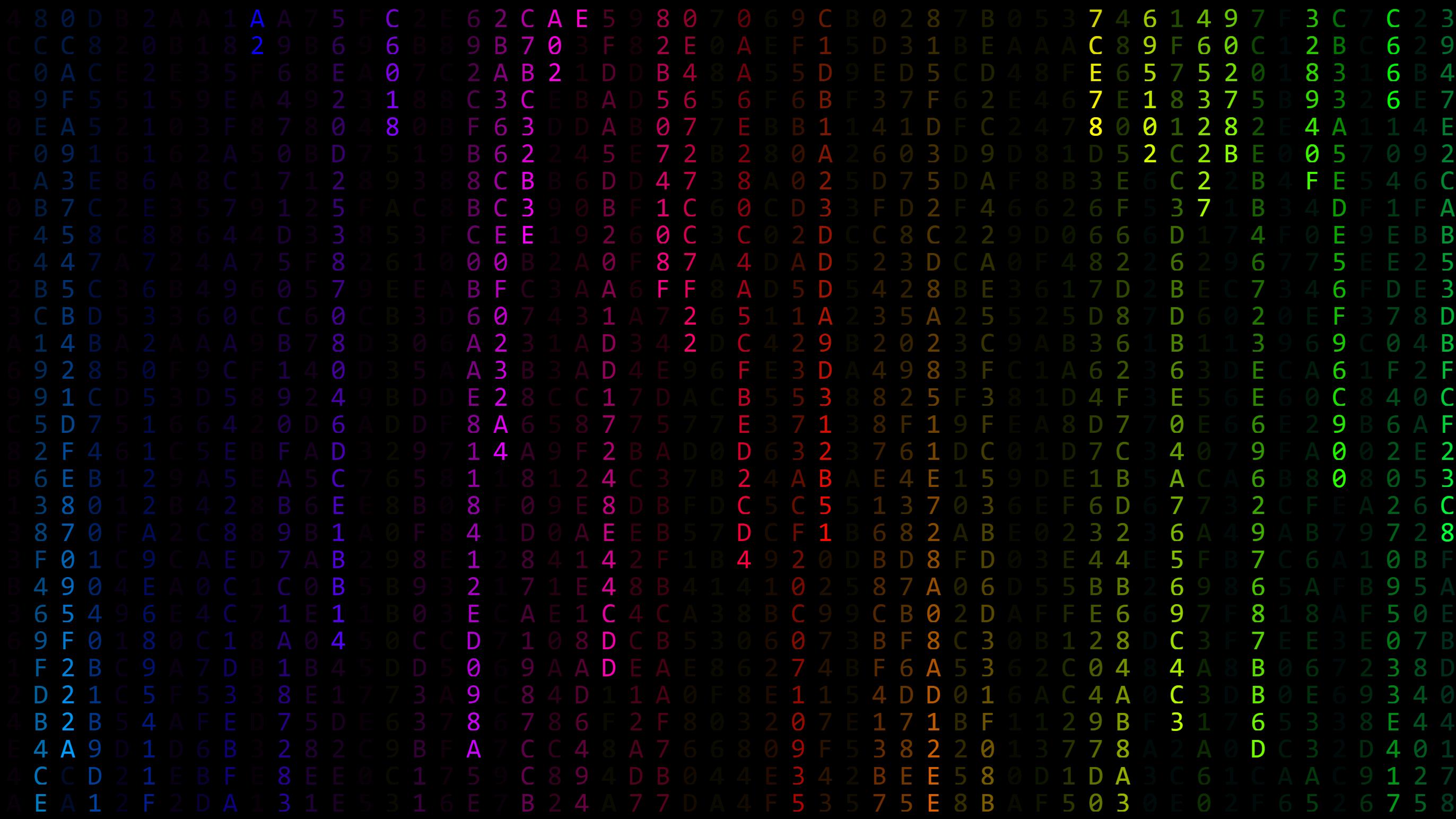 Wallpaper Engine - Colorful Matrix