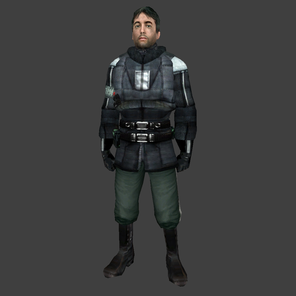 Barney Calhoun From Half-Life 2: Episode 1