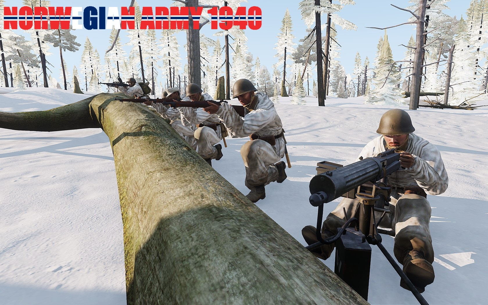 Arma 3 winter weapons