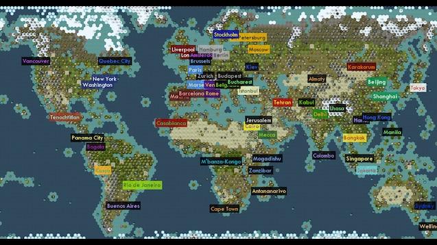 Steam Workshop :: Noel's Earth on hd earth map, game earth map, total war earth map,