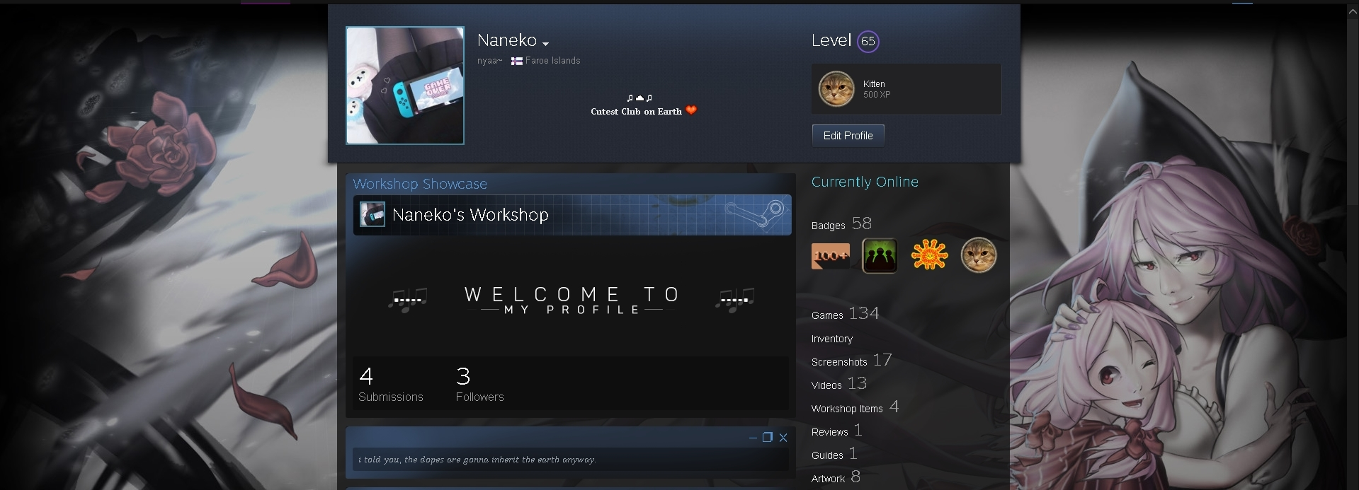 Steam community guide how to get famous in hvh scene you should have a steam level 30 or higher in order to make a nice looking profile with artworks where you can feature your hvh top king screenshots or biocorpaavc Image collections