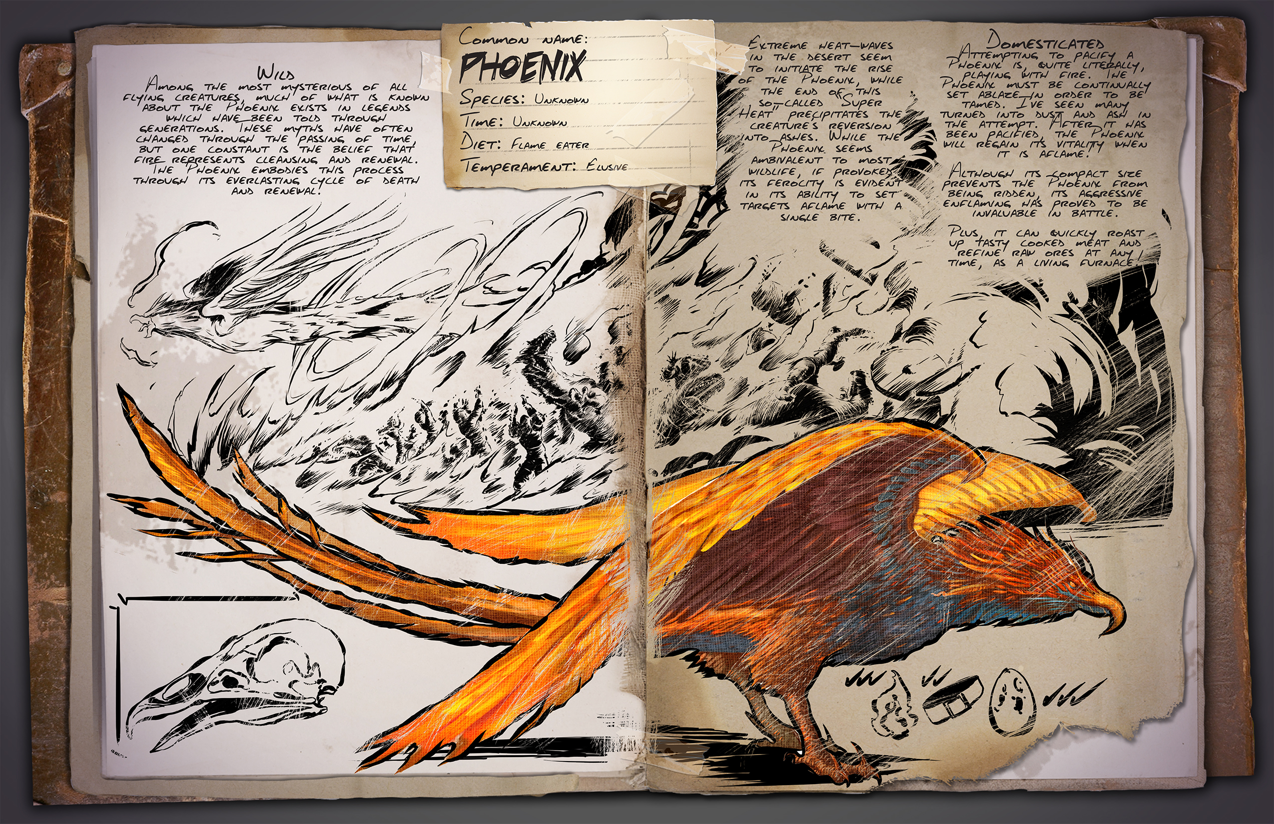 ARK: Survival Evolved :: Introducing the Phoenix & ARK