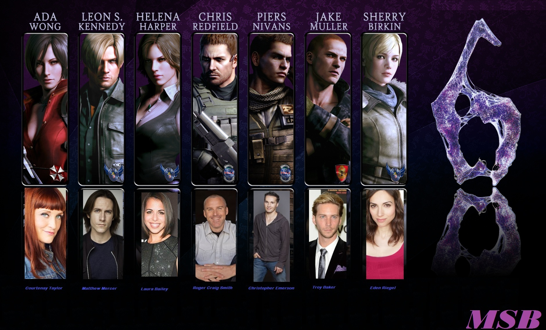 Steam Community Guide Resident Evil 6 Characters