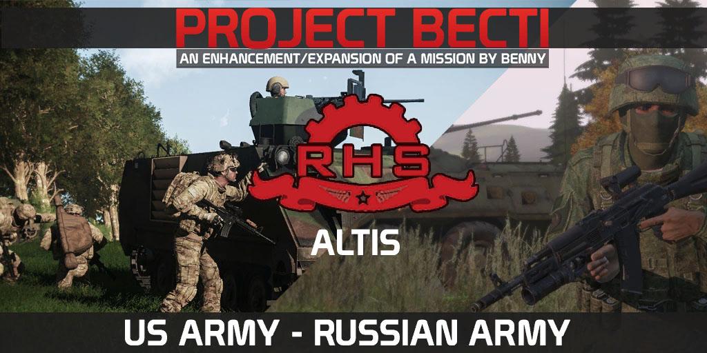 ProjectBECTI V0.3 - RHS (USA-RUSA) - Altis