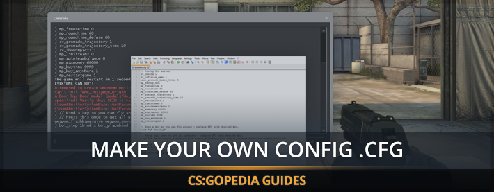 how to create a cfg