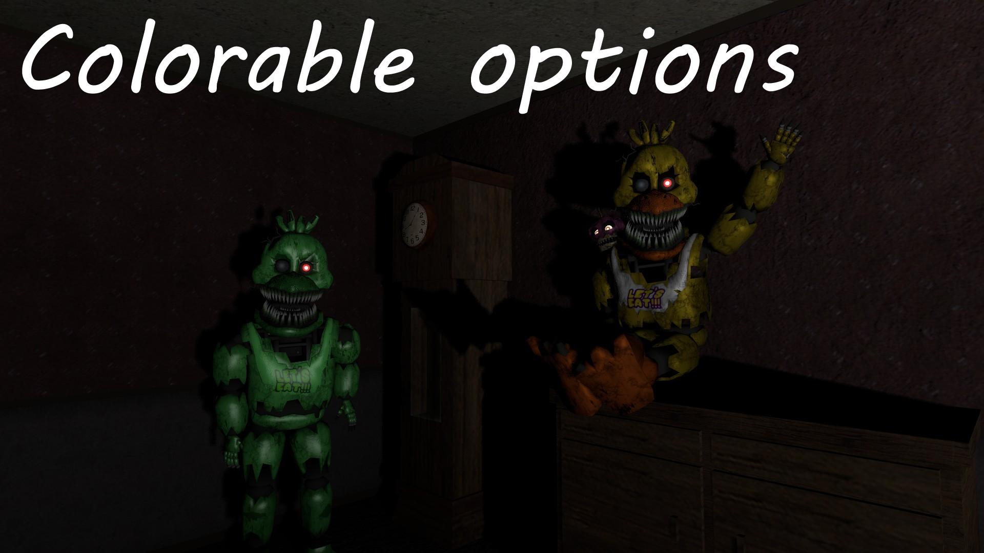Steam Workshop :: Fnaf 4 | Nightmare Animatronics | Part 2 | NPCs