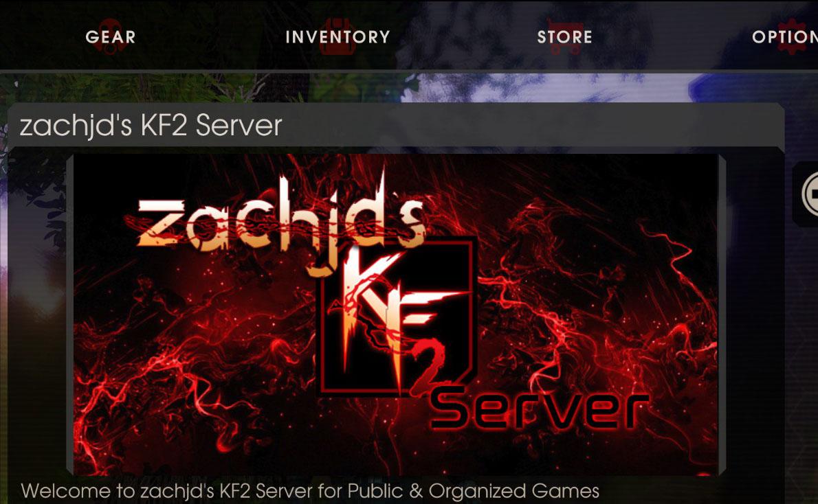 how to make killing floor 2 server